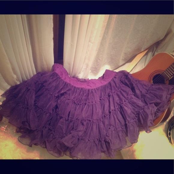 10ebe9f3e Malco Modes Skirts   Gorgeous Deep Purple Can Can Tutu   Poshmark
